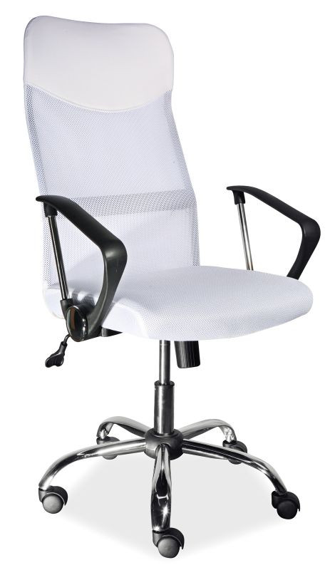 Fotel obrotowy Dora (biały)