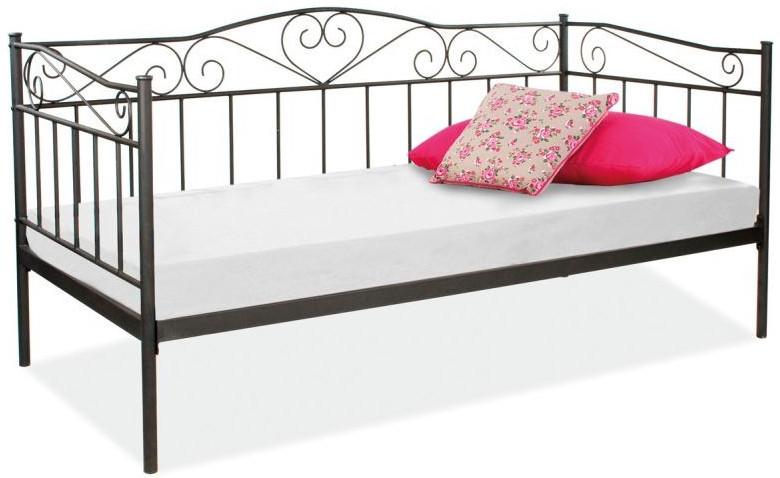 Łóżko Elena (czarny)