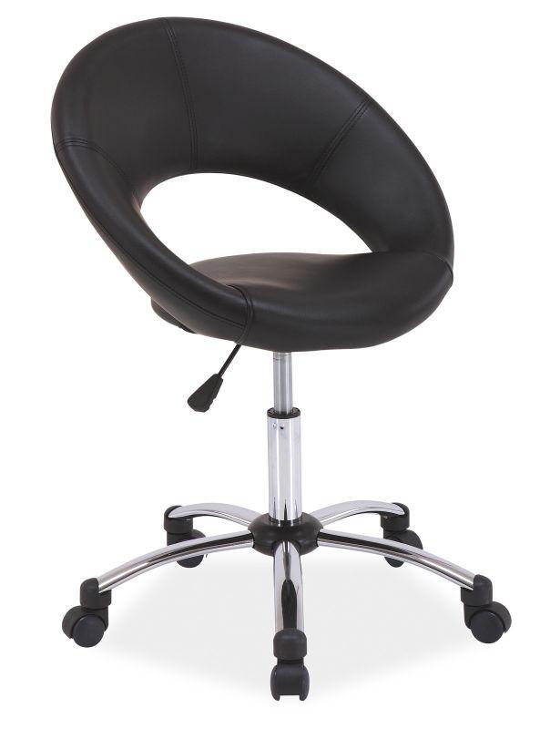 Fotel obrotowy Elza (czarny)