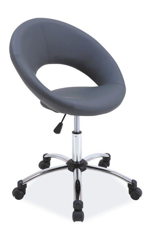 Fotel obrotowy Elza (szary)
