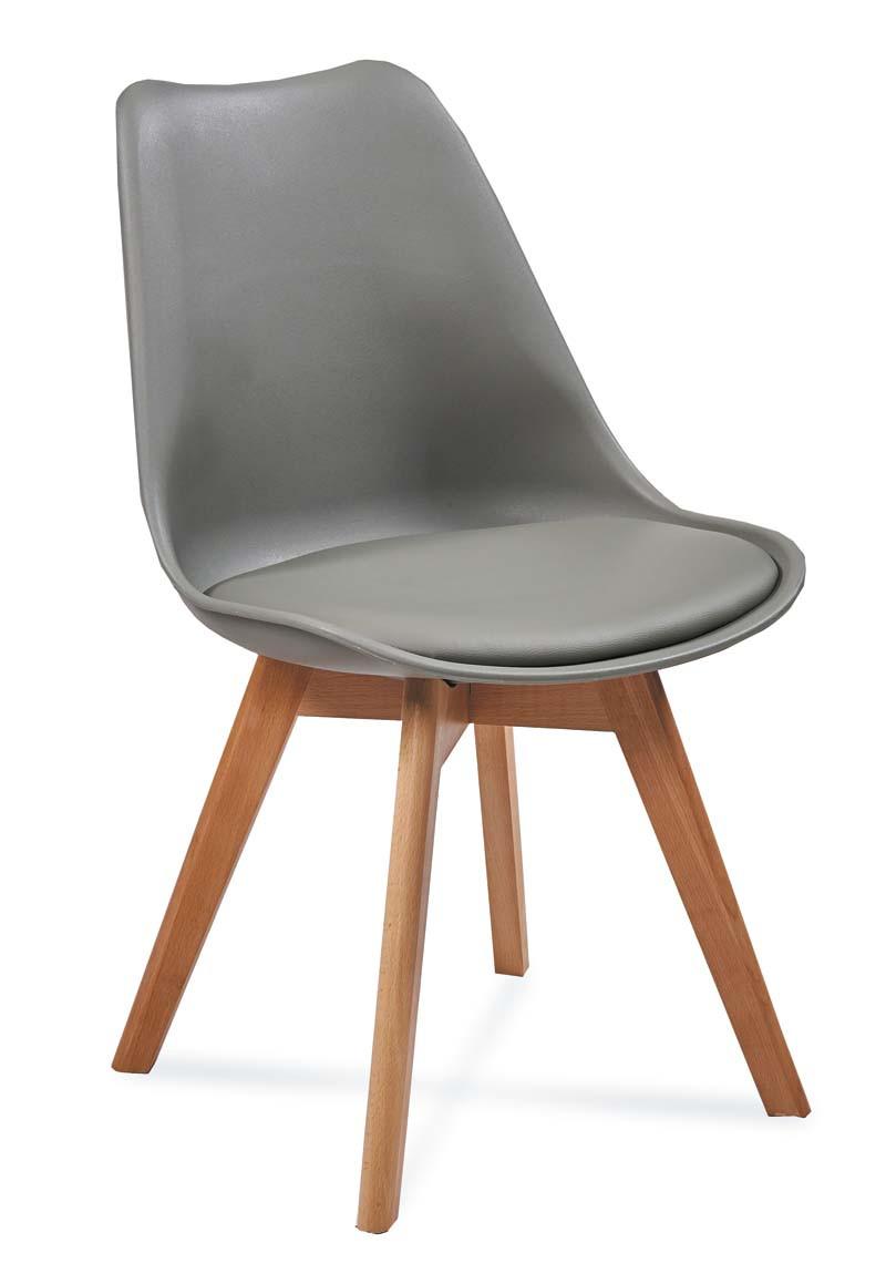 Krzesło Bergen (szary)