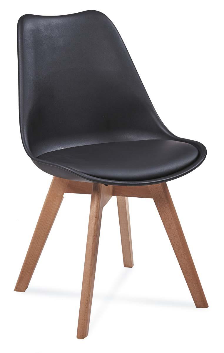 Krzesło Bergen (czarny)