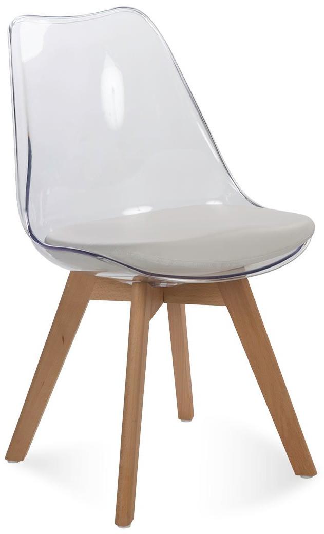 Krzesło Bergen (przeźroczysty)