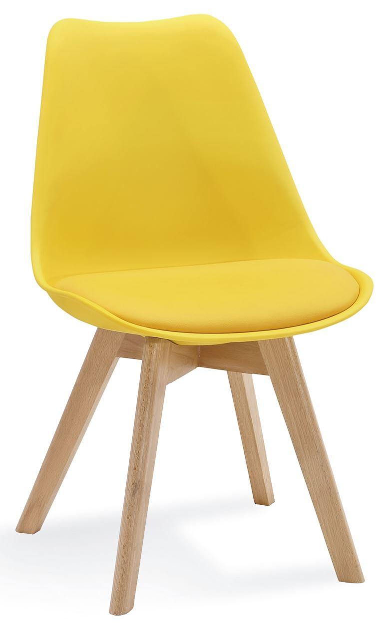 Krzesło Bergen (żółty)