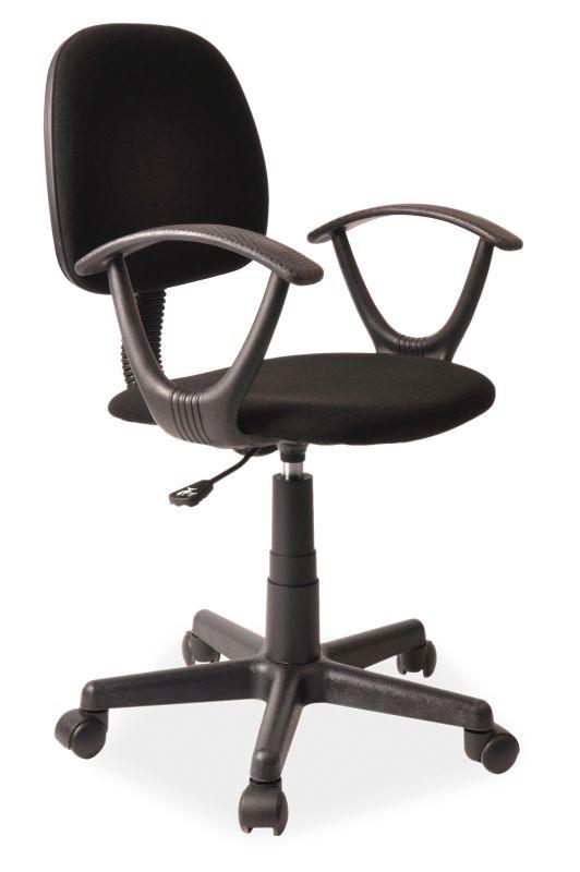 Fotel obrotowy Flik (czarny)