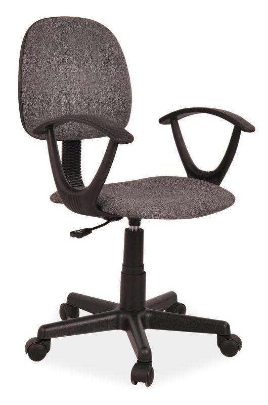 Fotel obrotowy Flik (szary)