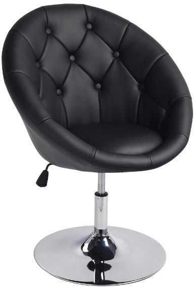Fotel Celina (czarny)