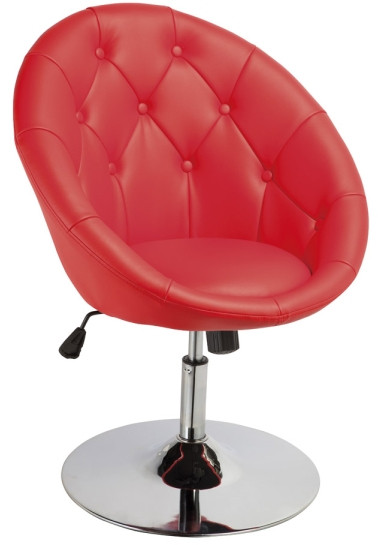 Fotel Celina (czerwony)