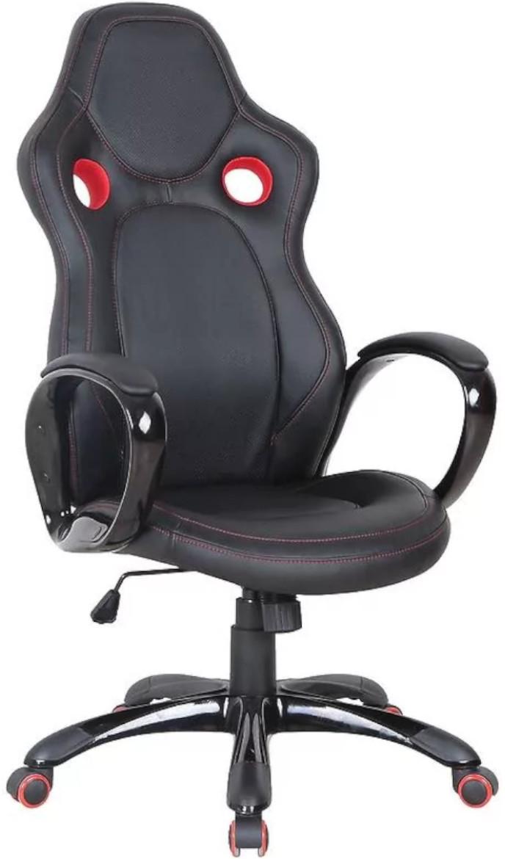 Fotel CX0996H czarno/czerwony