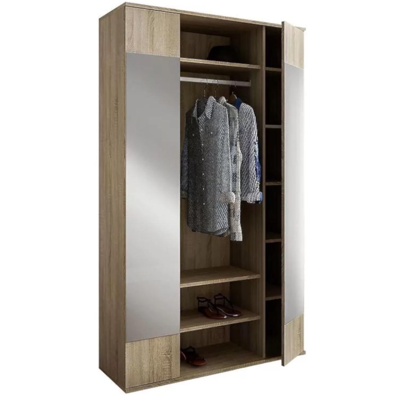 Garderoba Eliza dąb sonoma/ szkło