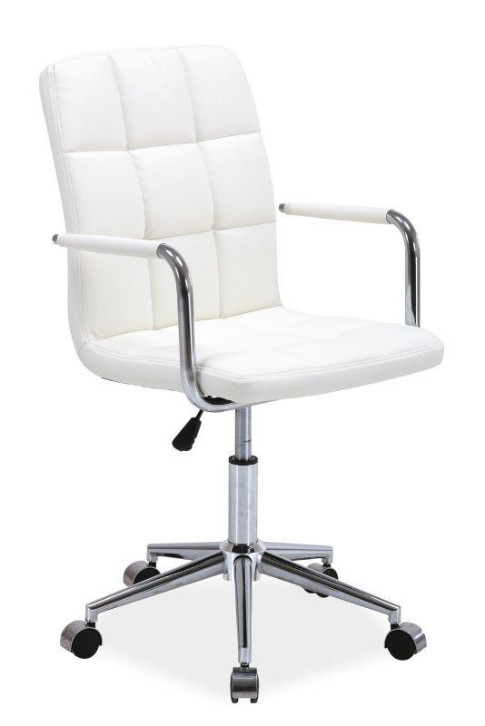 Fotel obrotowy Helmut (biały)