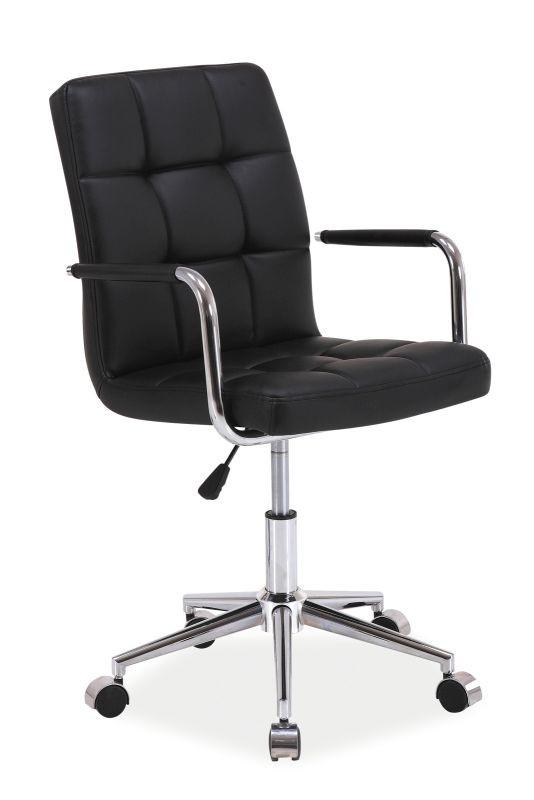 Fotel obrotowy Helmut (czarny)