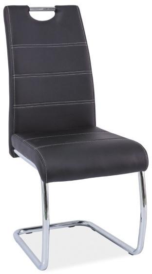 Krzesło Hermes (czarny)