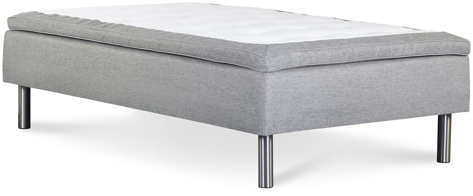 Łóżko Iceland 120x200 (jasny szary)