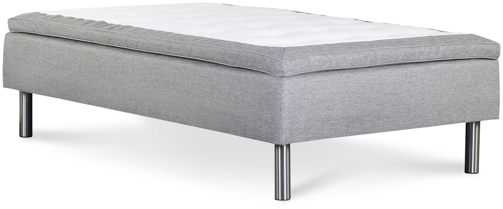 Łóżko Iceland 90x200 (jasny szary)