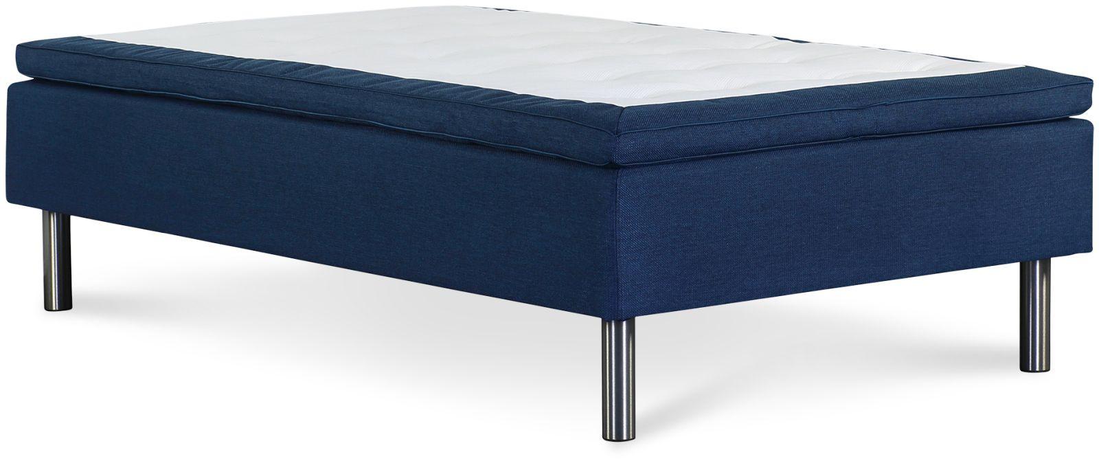 Łóżko Iceland 90x200 (niebieski)
