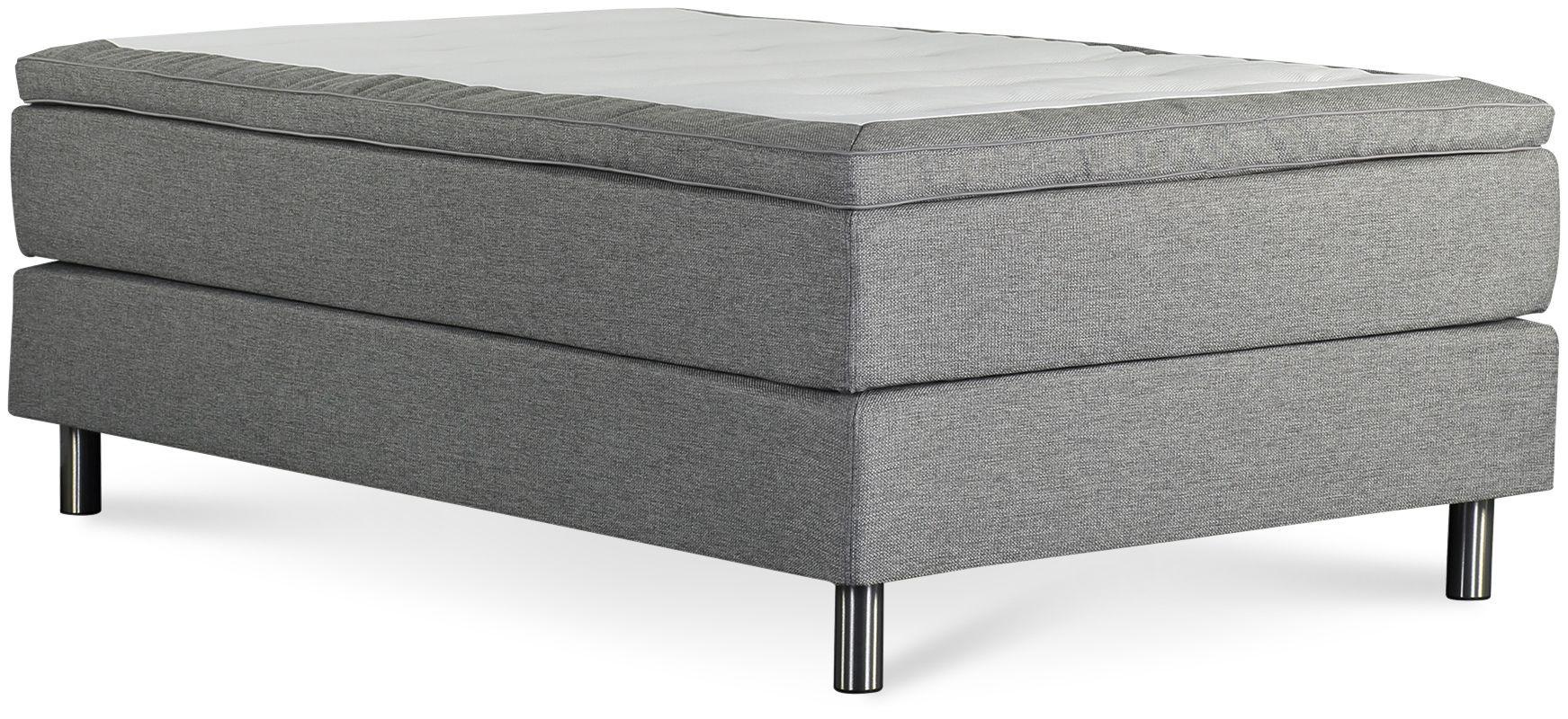 Łóżko Iceland 120x200 (jasno szary)