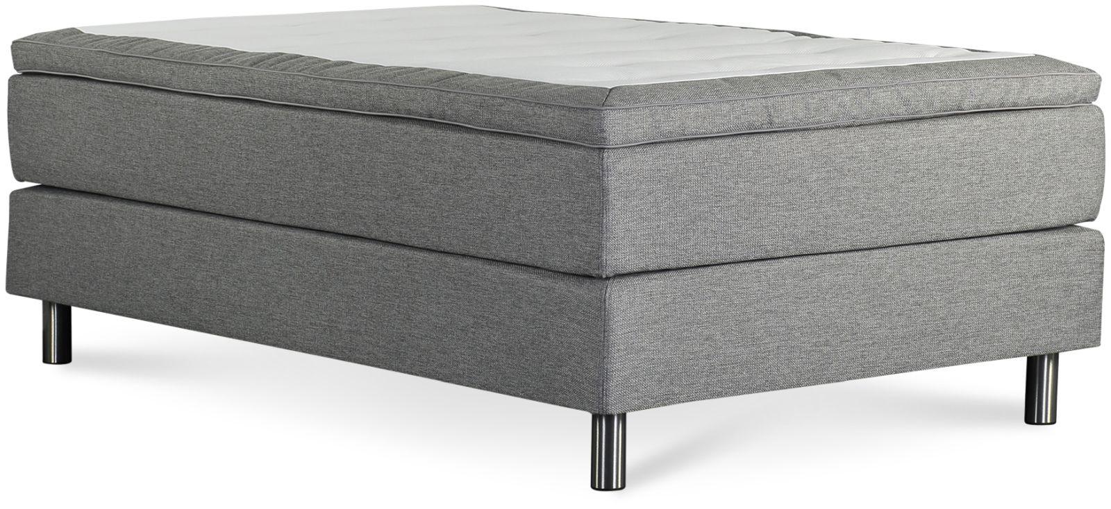 Łóżko Iceland 140x200 (jasno szary)