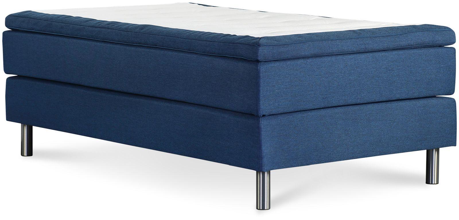 Łóżko Iceland 140x200 (niebieski)