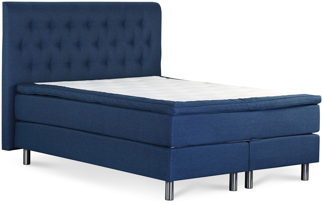 Łóżko Iceland 160x200 (niebieski)