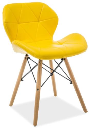 Krzesło Julian (żółty)