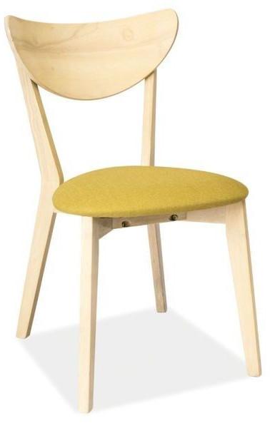 Krzesło Kansas 2 (dąb bielony/zielony)