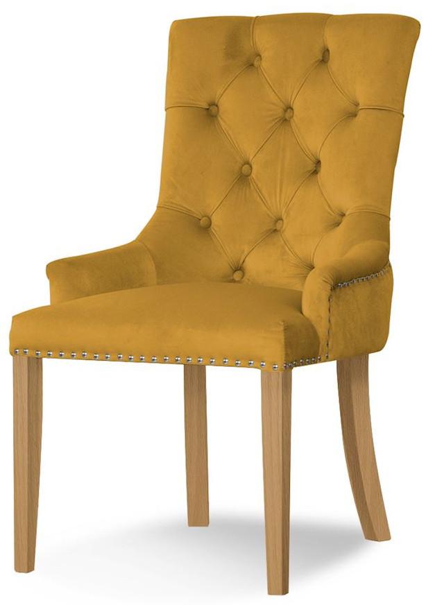 Krzesło Ludwik (miodowy)