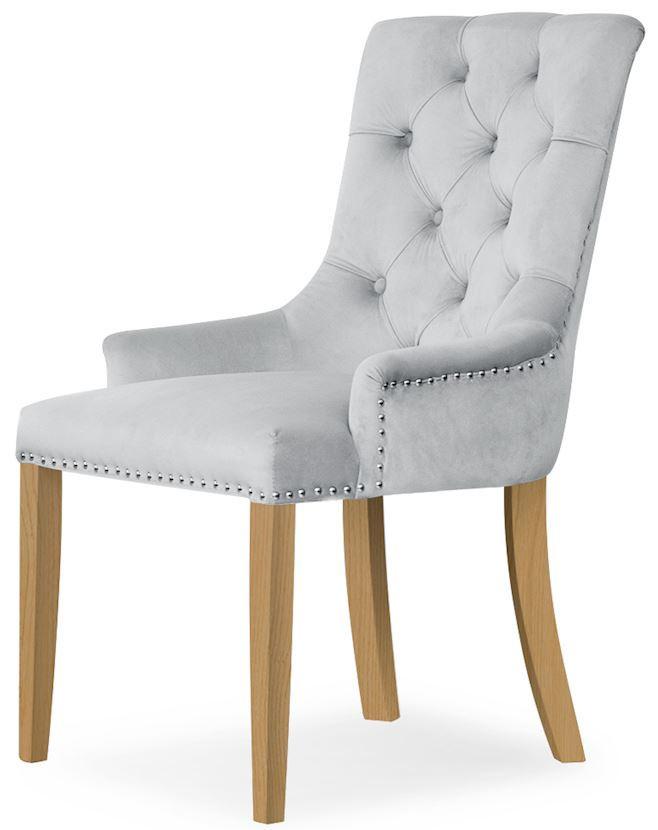 Krzesło Ludwik (srebrny)