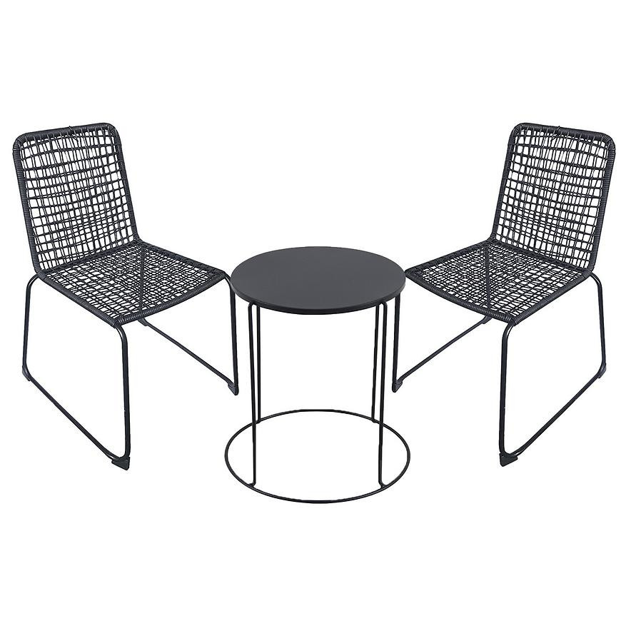 Komplet stół modern fts80778d+2 krzesła kanada frs01990