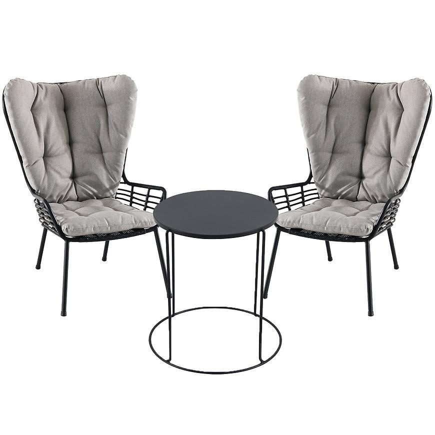 Komplet stół modern fts80778d+2 krzesła oxford ffrs50279b-yd
