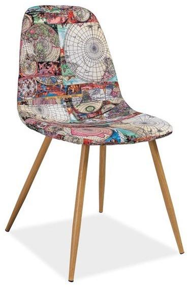 Krzesło Albertus Mapa