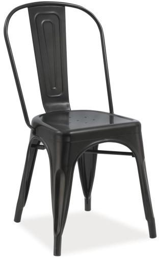 Krzesło Spider (czarny mat)