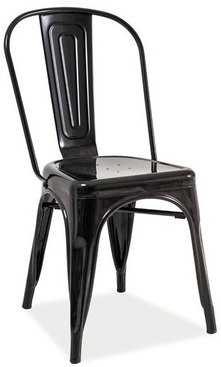 Krzesło Spider 2 (czarny przecierany)