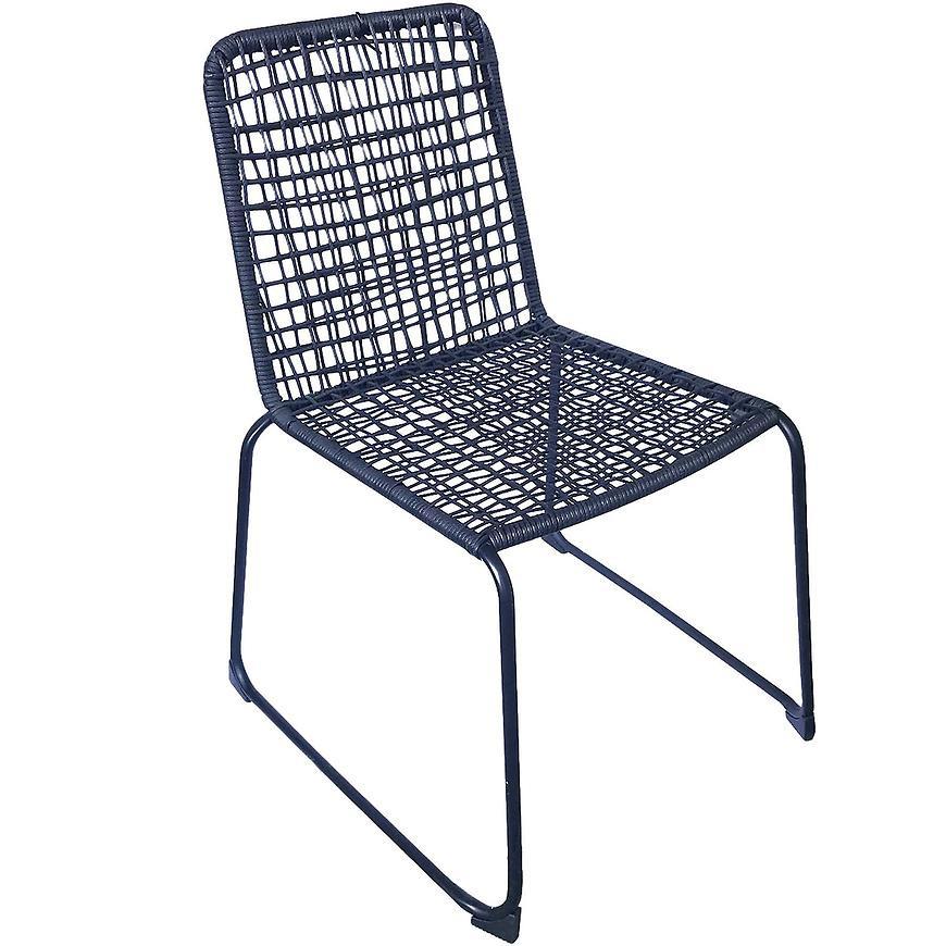 Krzesło Kanada czarne 61X57X84CM FRS01990