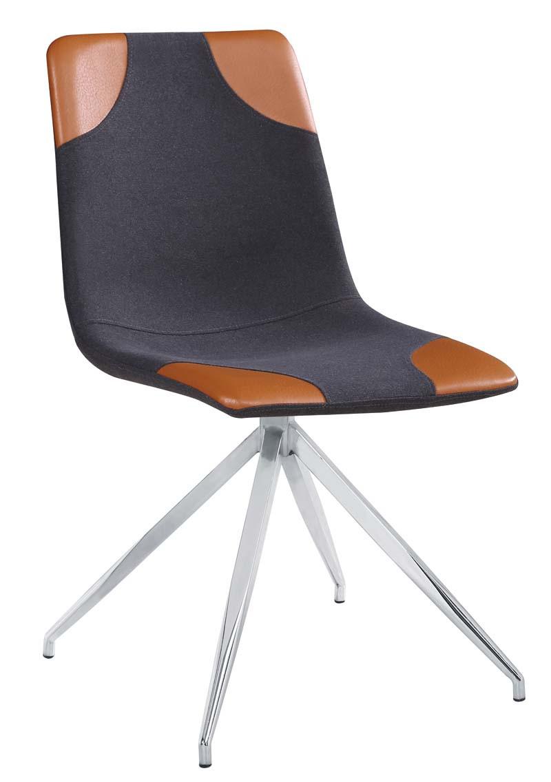 Krzesło Mark (szary+chrom)