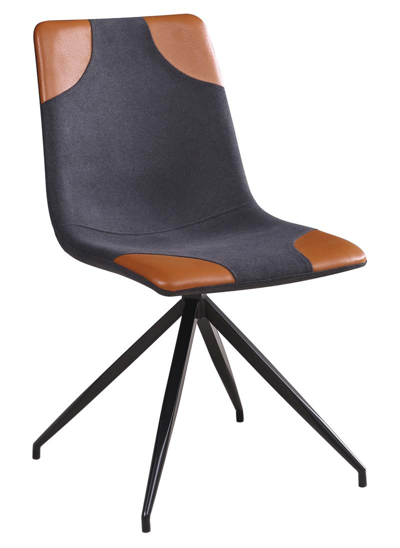 Krzesło Mark (szary+brązowy)