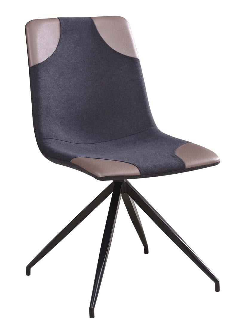 Krzesło Mark (szary+jasny szary)