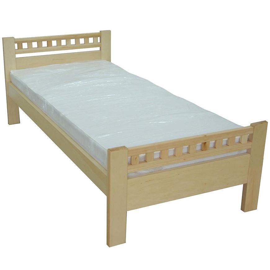 Łóżko Milena 90x200 drewno olcha