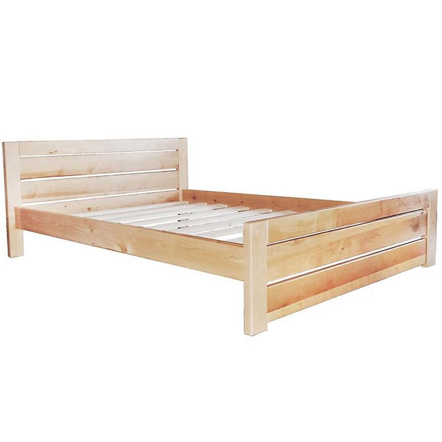 Łóżko Oliwia 90 drewno olcha nat