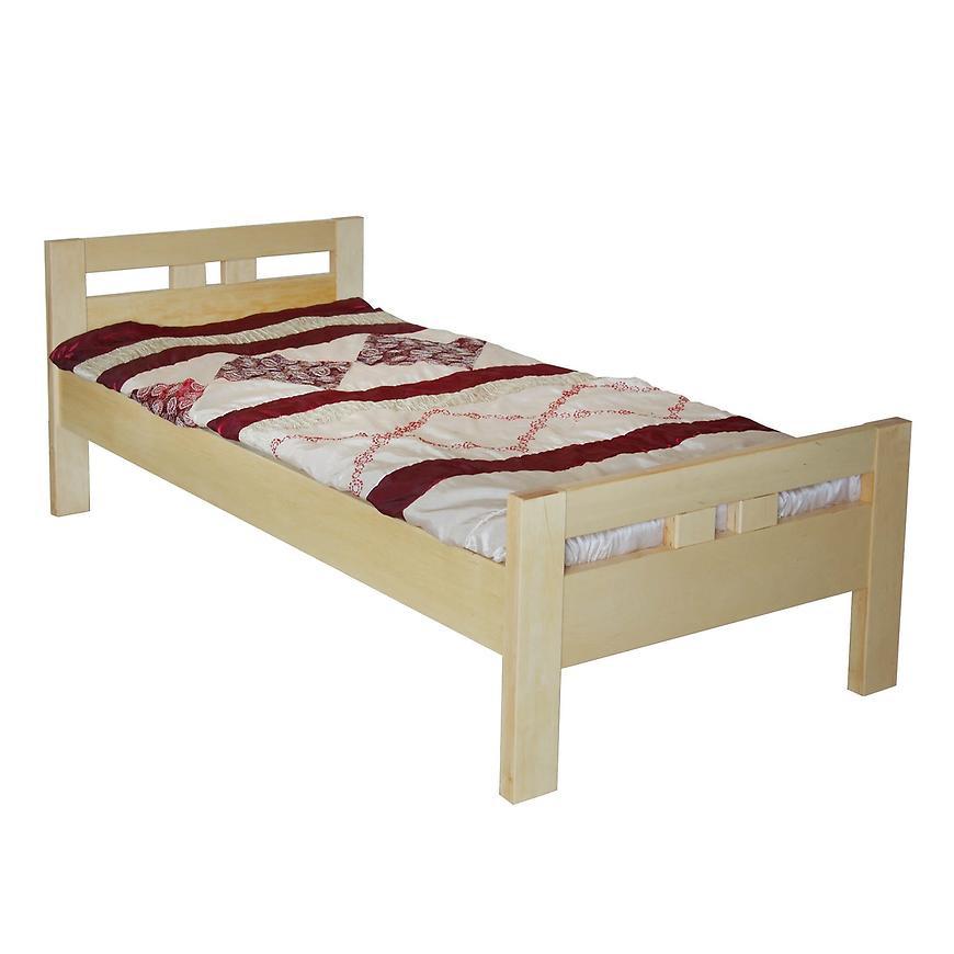 Łóżko Prezydent 90X200 drewno olcha naturalna
