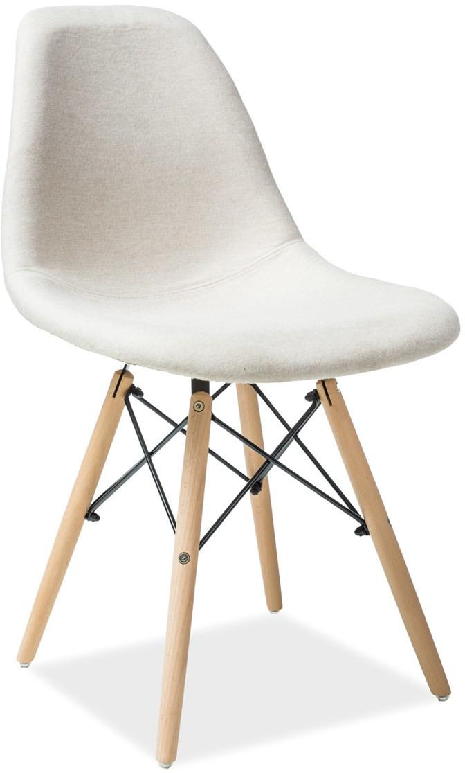 Krzesło Milano (buk/beżowy)