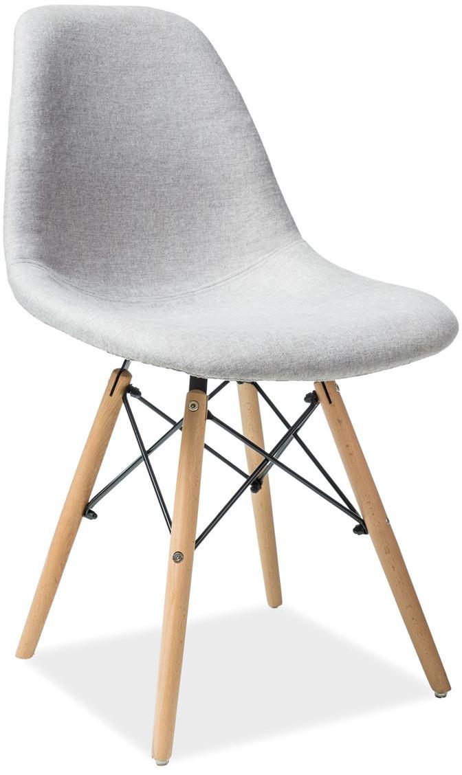 Krzesło Milano (buk/szary)
