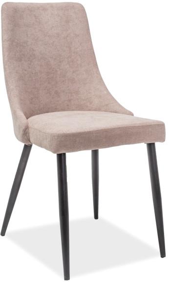 Krzesło Milen (czarny/beżowy)