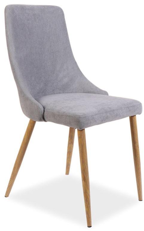 Krzesło Milen (dąb/szary)