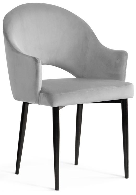 Krzesło Miriam (srebrny/czarny)