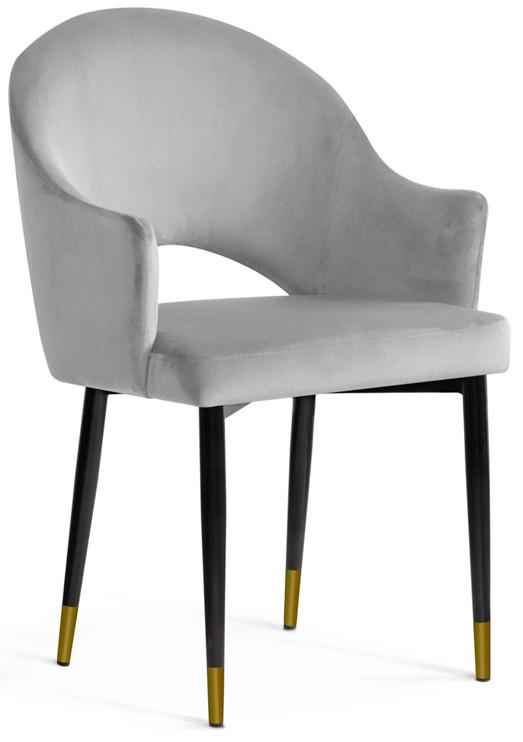 Krzesło Miriam (srebrny/złoty)