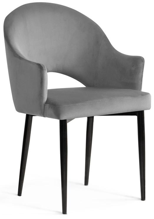 Krzesło Miriam (szary/czarny)