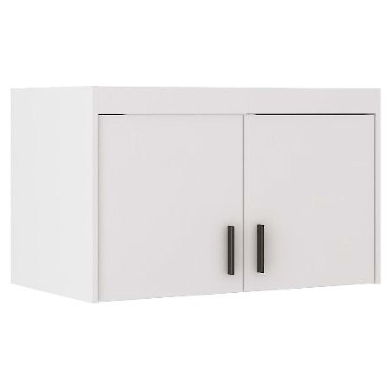Nadstawka do szafy Elena 89,7 cm biała