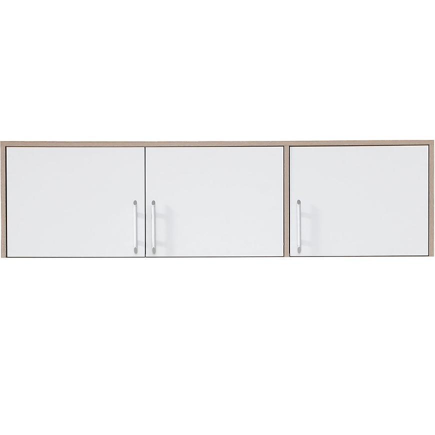 Nadstawka szafy Smart SRN2 150 cm dąb sonoma/biały