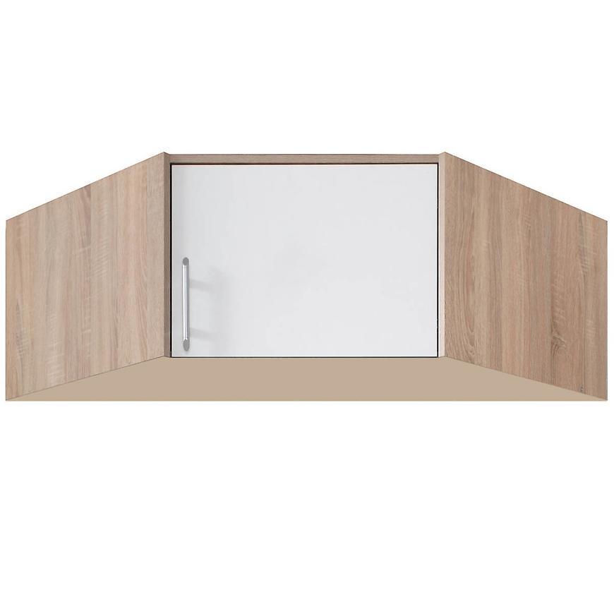 Nadstawka szafy Smart SRN4 95 cm dąb sonoma/biały